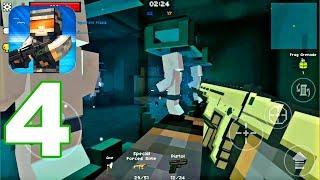Pixel Strike - Gameplay Walkthrough Part 4 - SCAR TEST GUN (Android Games)