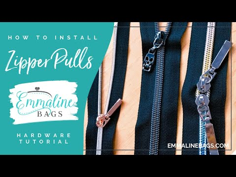 How to put #3 and #5 Sliders on Zipper tape