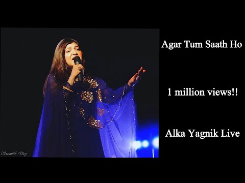 | Agar Tum Sath Ho | Arijit Singh-Alka Yagnik | Alka Yagnik In Live Concert |