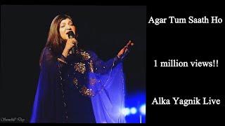 Gambar cover | Agar Tum Sath Ho | Arijit singh-Alka yagnik | Alka Yagnik in live concert |
