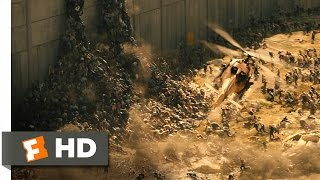 Download World War Z (5/10) Movie CLIP - Over the Wall (2013) HD