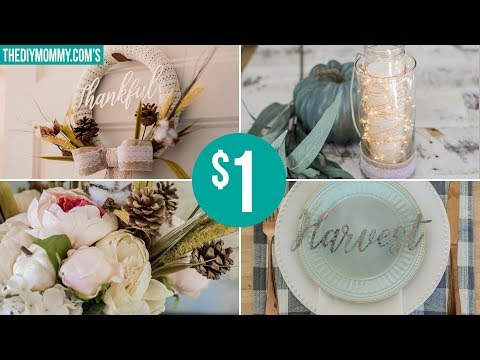 RUSTIC FALL DOLLAR TREE DIY DECOR