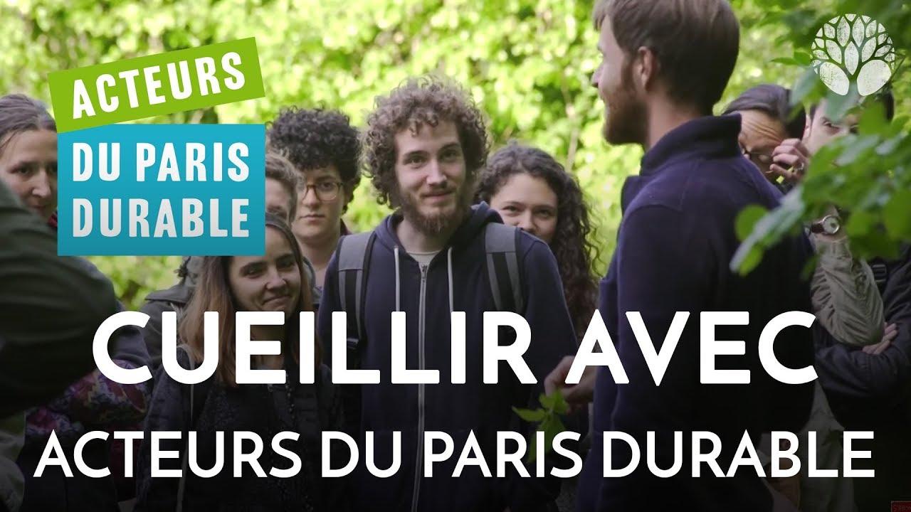 Cueillir des Plantes Comestibles et Medicinales à Paris avec les Acteurs du Paris Durable