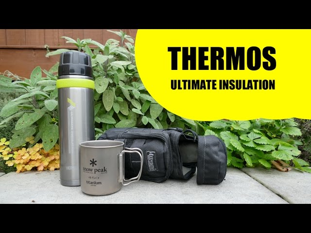 Charcoal Thermos Ultimate Series Flask 900 ml