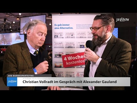 Im Interview: Alexander Gauland (JF-TV Direkt)