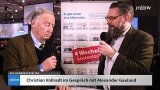 Im Interview: Alexander Gauland (JF-TV Direkt)