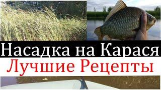 Рыболовные Секреты Лучшие насадки на Карася Готовим сами насадки для рыбалки Убийца карпа Карась