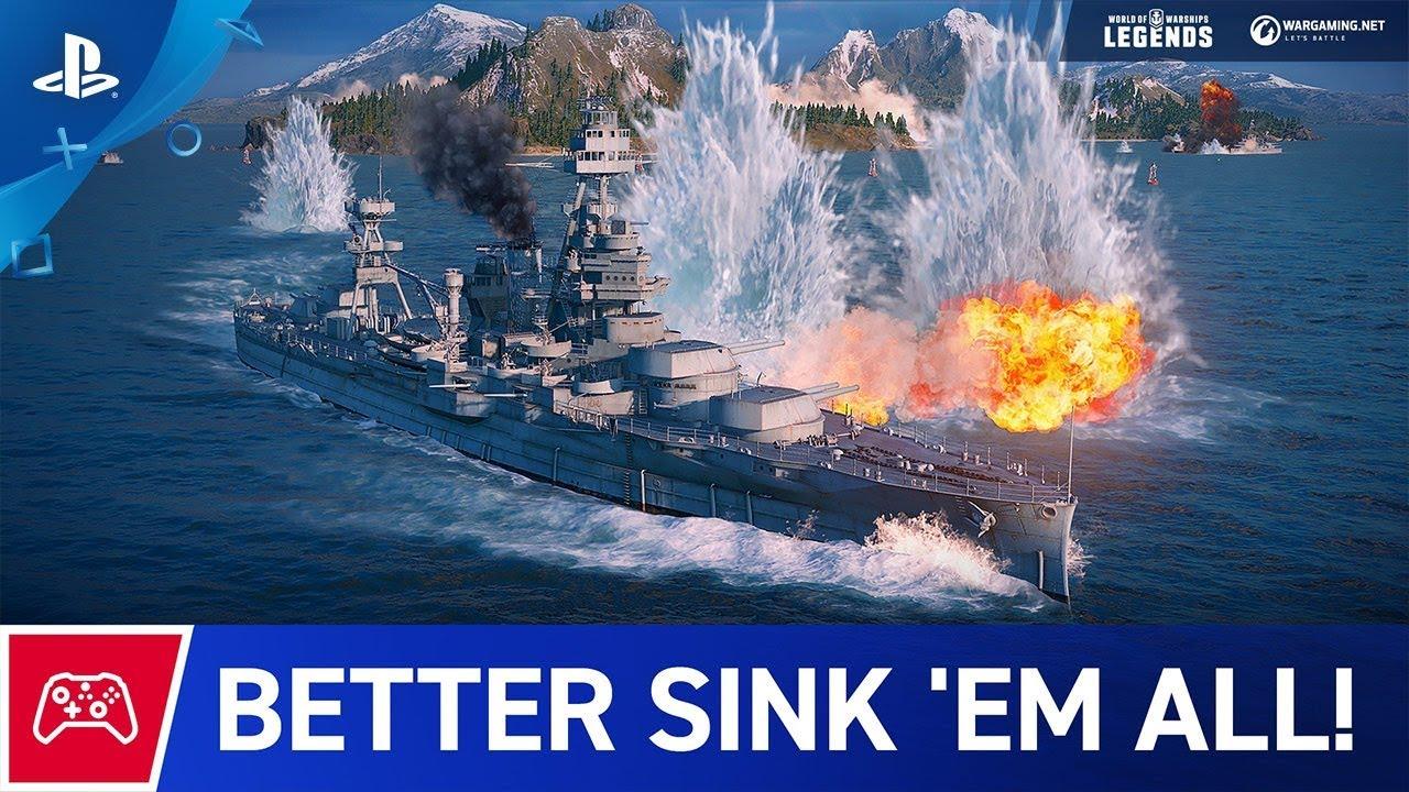 World of Warships: Legends  Адмирал ждёт сигнала — Игромания