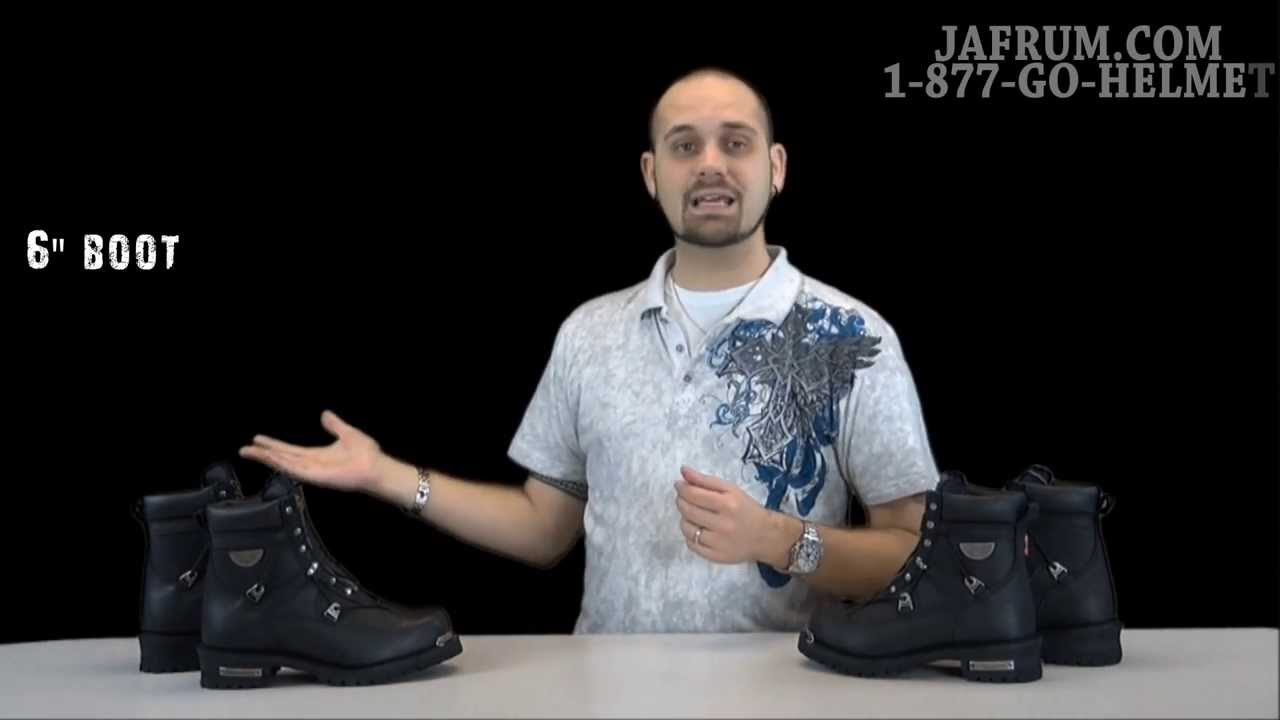 Milwaukee Throttle Motorcycle Leather Boots Review - Jafrum.com ...