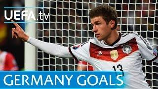 Gerd Müller, Jürgen Klinsmann, Thomas Müller - Great Germany goalscorers