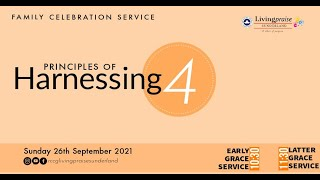 Early Grace Service    PRINCIPLES OF HARNESSING 4