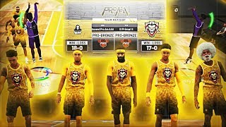 WE PLAYED A TOP 10 PRO-AM TEAM ON NBA 2K19...