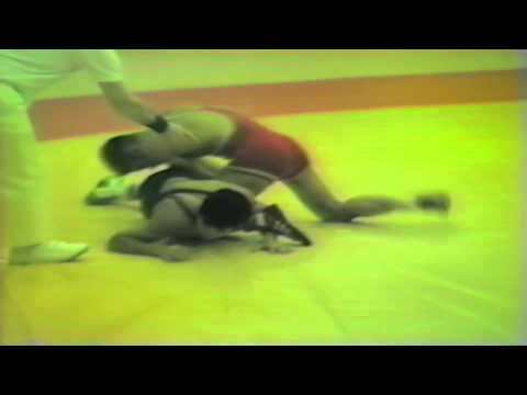 1988 Senior European Championships: 57 kg Bela Nagy (HUN) vs. Vicente Caceres (ESP)