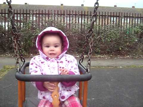 First time at the playground