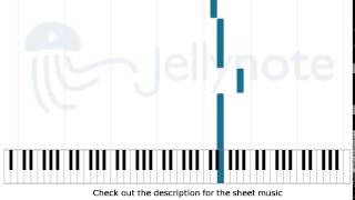 Canon Rock - JerryC [Piano Sheet Music]