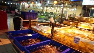 Рыбный ресторан в Кота Кинабалу