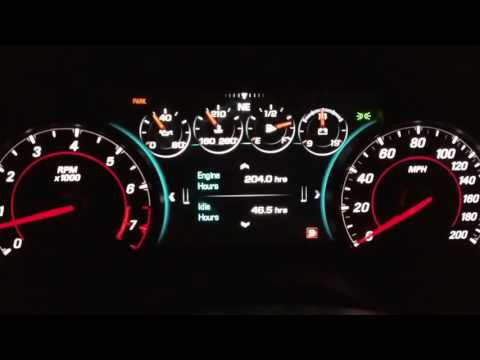 2016 / 2017 Chevrolet Camaro Guage Cluster Tutorial / Tips / Manual