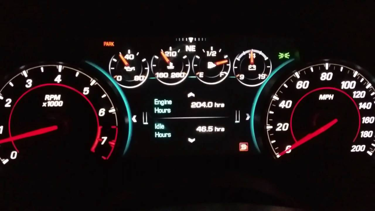 2016 2017 Chevrolet Camaro Guage Cluster Tutorial Tips