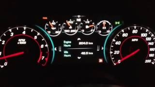 2016 / 2017 Chevrolet Camaro Guage Cluster Tutorial / Tips / Manual