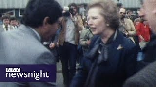 Robert Harris reports on the 1983 general election - Newsnight Archives