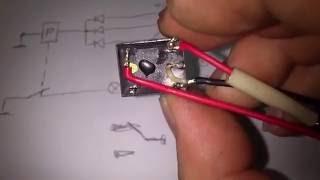 Подключение реле управления лампой контроля АКБ, к блоку БПВ 14 10