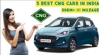Top 5 Best CNG Cars aviable in India || Must watch