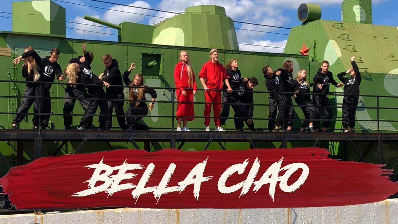"""""""BELLA CIAO"""" Russian edition by Sofia Fisenko, Ranel Bogdanov & FloMaster dance studio"""
