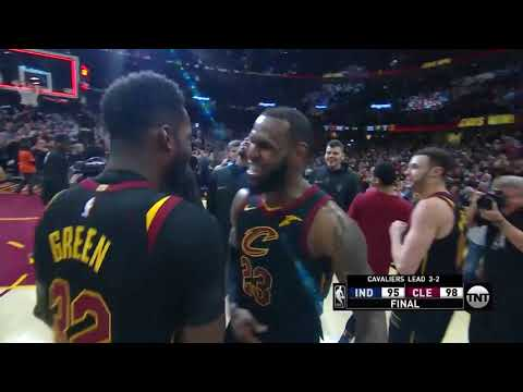 Cavs' LeBron James Drains Game-Winning Buzzer Beater to Beat Pacers