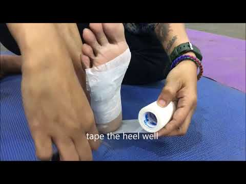 GOQii Trail Challenge | How to Tape your Foot to Prevent Blisters