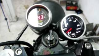 Yamaha FZR600 Turbo Idling
