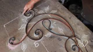 Изготовление кованой вешалки