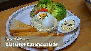 Klassieke huzarensalade van Casper Holtkamp