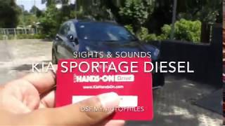 Kia Sportage Diesel Sights & Sounds