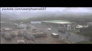 Accident near Cochin Refinery , Ambalamugal . a CCTV grab