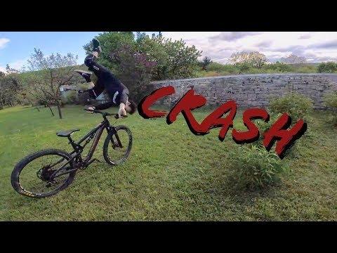 Il tente le frontflip!!! Crash - Test Santa Cruz Bronson