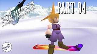 FF7 Longplay – Part 94: Snowboard Minigame