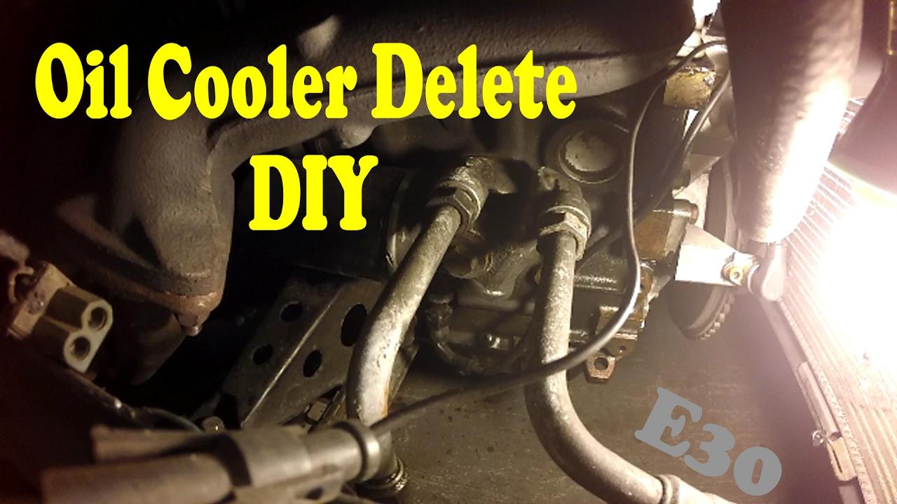 2010 Camaro Engine Cooling System Diagram Oil Cooler Delete Diy Youtube