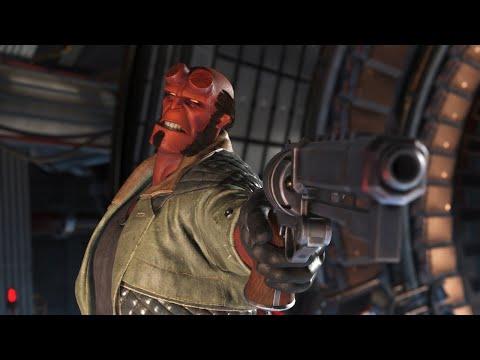 10 Sassy Injustice 2 Hellboy Intros
