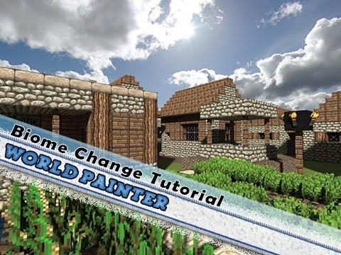 Tutorial World Biome Change (World Painter) + Minecraft Seed