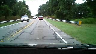 Passing Stopped School Bus.AVI