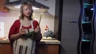 """Проект """"Еда без вреда с Анной Шенкар"""" Видео-рецепты. Салат с сельдереем"""