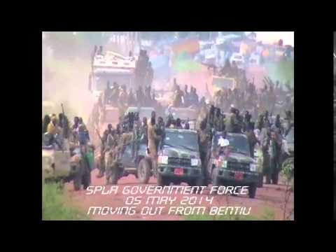 Archive footage: SPLA retreat from Bentiu, 5 May 2014