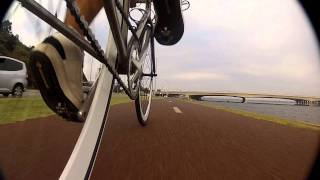 Gopro Hd Hero2, Uwa To Perth Station, Fixed Gear