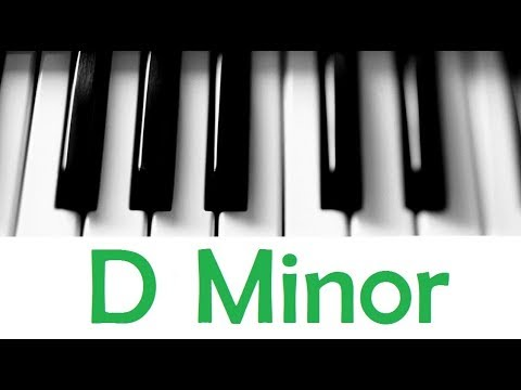 D Minor Scale Chords All Scales Chords Tutorial 27 Youtube