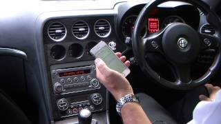 Syncing an iPhone to the Blue & Me System in an Alfa Romeo 159 SPORTWAGON 2.0 JTDM 16v TI 5dr