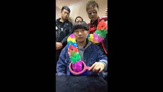 Magical secret 3!Chinese funny magician group.