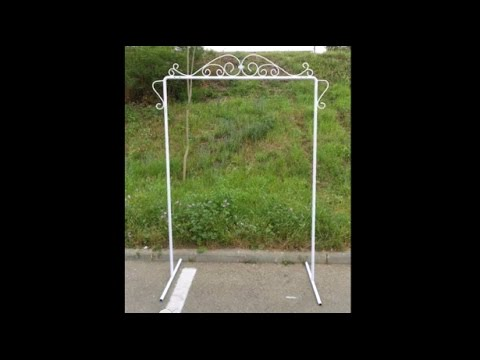 How to make a wedding arch - old video & How to make a wedding arch - old video - YouTube