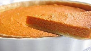 Recette Tarte Salée Aux Carottes   Savory Carrot Tart Recipe