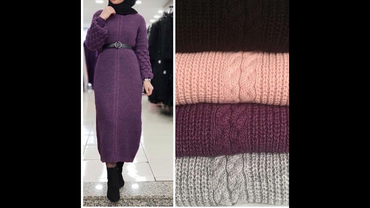[VIDEO] - ملابس شتوى للمحجبات موضة2020/موضة شتاء2020للمحجبات winter outfits hijab 8
