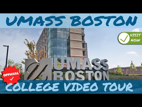 University of Massachusetts Boston -  College Campus video Tour